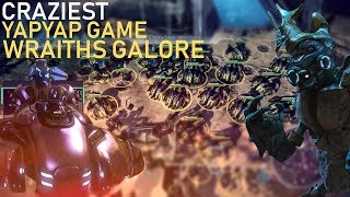 Halo Wars 2  - Absolutely crazy YapYap game, from full pop fodder spam to Wraith Tank army!