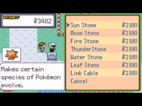 Get All Stones In Pokemon Theta Emerald