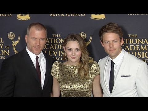 Hunter King, Lachlan Buchanan, Sean Carrigan 42nd Daytime Creative Arts Emmy Awards