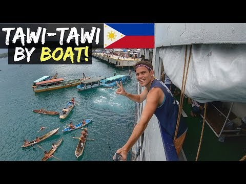TAWI-TAWI BY BOAT! Travel From Zamboanga City, Philippines