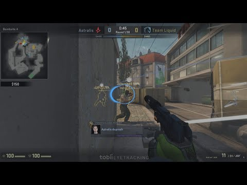 dupreeh Eye Tracking   Alienware Getting Technical - Group D   CS:GO Premier 2017