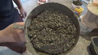 Стяжка підлоги полегшена. Вирівнювання плити перекриття / Ремонт квартири 160 кв. метрів в Казані