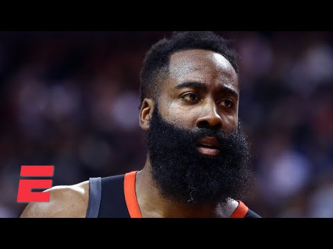 Reacting to James Harden rejecting the Rockets' 2-year/$103M extension   KJZ