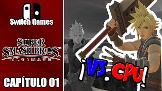 Switch Games Capitulo 1 Super Smash Bros Ultimate 1v1 cpu