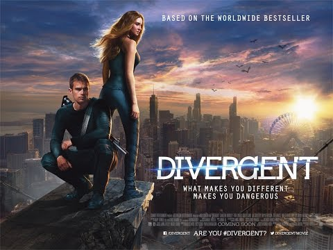 Divergent!  A Mrs Volfie Movie Review!!