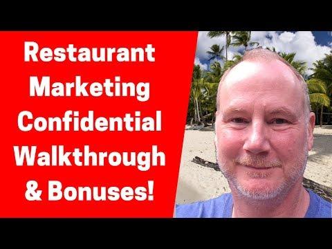 Restaurant Marketing Confidential Walkthrough and Bonuses Jim Mack