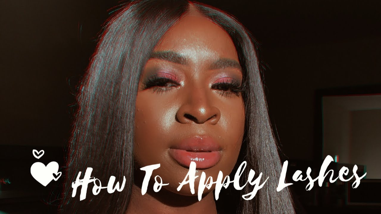 Download HOW TO APPLY LASHES featuring Omoge Lashes   BLESSING MARIAH