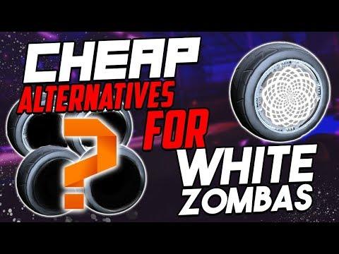 CHEAP ALTERNATIVES FOR WHITE ZOMBAS ON ROCKET LEAGUE