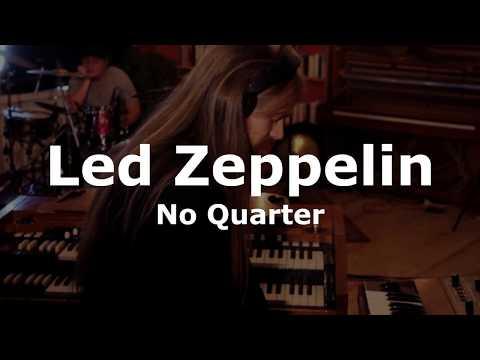 No Quarter (Led Zeppelin Cover) - Live in the Studio