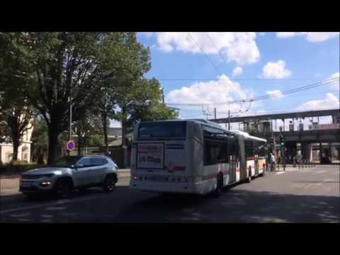 Bus C4 Iveco Irisbus TCL Lyon a Jean-Macé