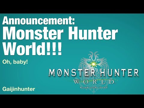 Monster Hunter World: Announcement
