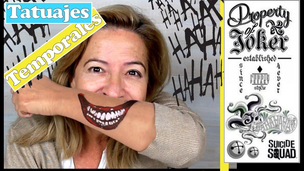 Cómo Hacer Tatuajes Temporales Temporary Tattoo Youtube