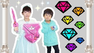 ★「願いが叶う」伝説の7つのダイヤモンド探しの旅!★The legendary seven diamonds★