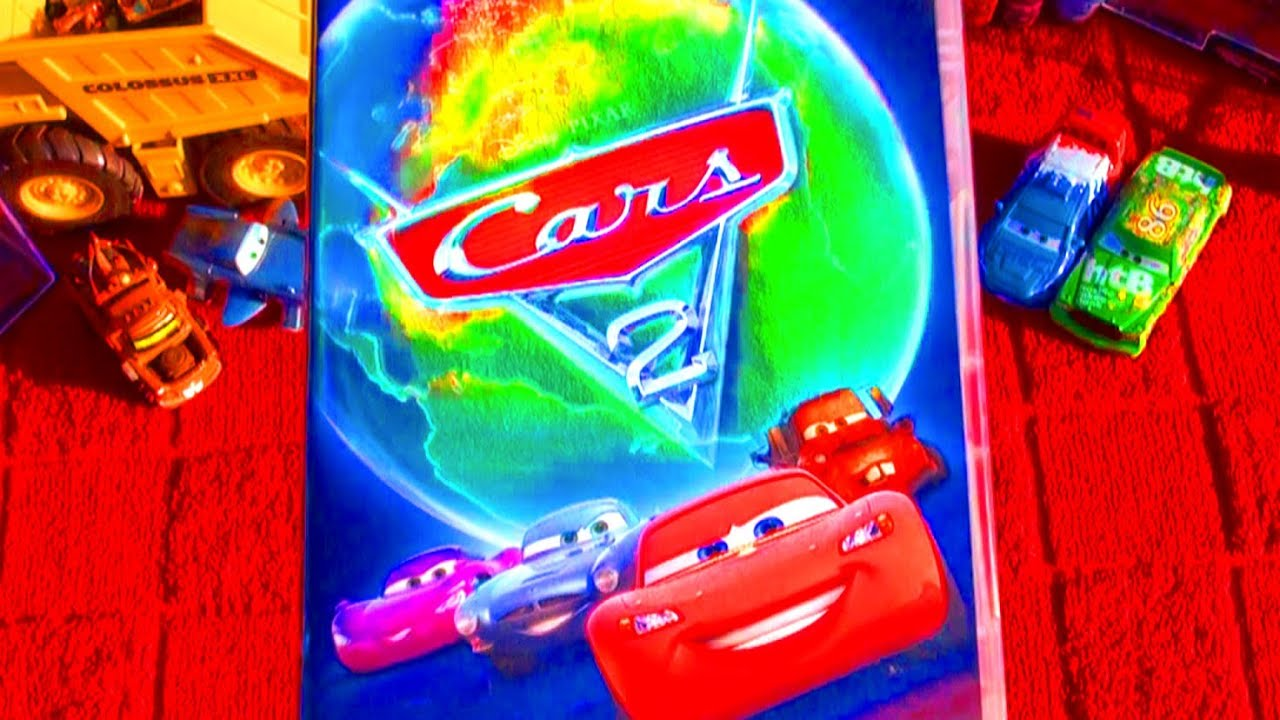 Cars 2 Full Movie DVD Unboxing Review - Disney Pixar Movies Official Release