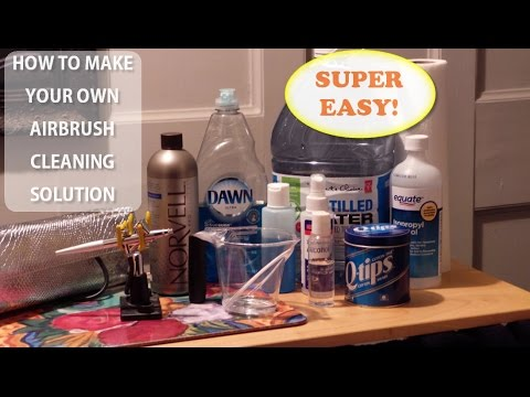 airbrush cleaner diy