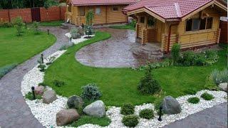 Потрясающие идеи оформления сада с помощью камней