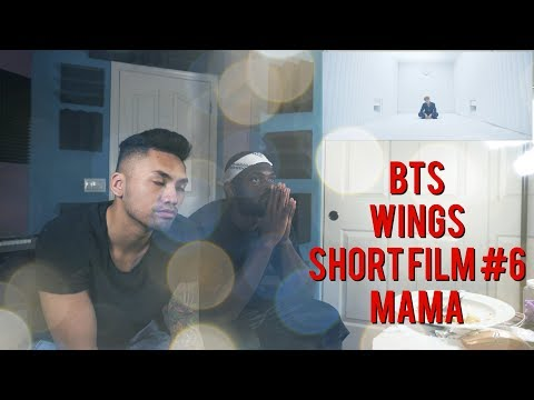 BTS- WINGS Short Film #6 MAMA - (REACTION VIDEO)