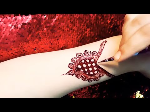 Beautiful bridal mehndi design tutorial thumbnail