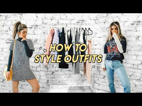 how to style outfits for newbies ☆