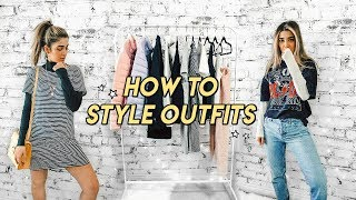 how to style outḟits for newbies ☆