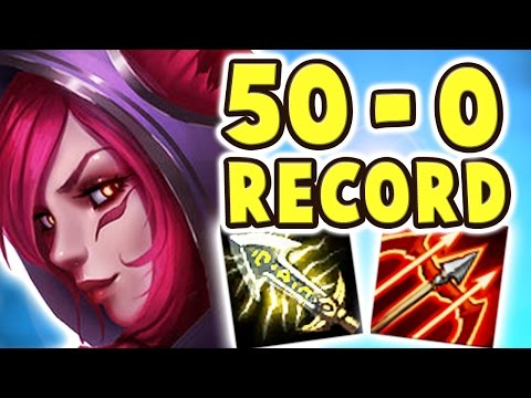 50-0 RECORD SHUT DOWN!! SOMEBODY COME LOOK AT THIS | SALTY GRAVES | XAYAH RAKAN BOT LANE Nightblue3