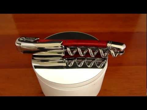 Chateau Laguiole Corkscrew Red Stamina Handle
