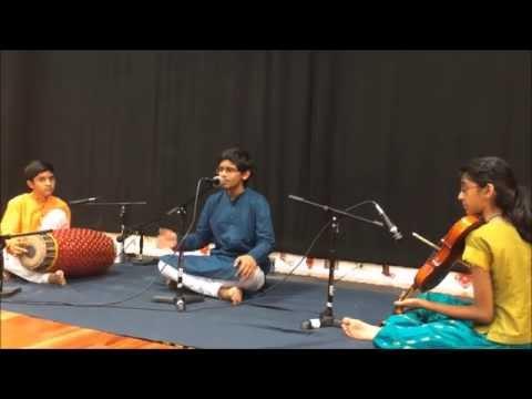 Sree Gananatham - Adi Thalam Tisra Gathi - Ragam Eashamanohari