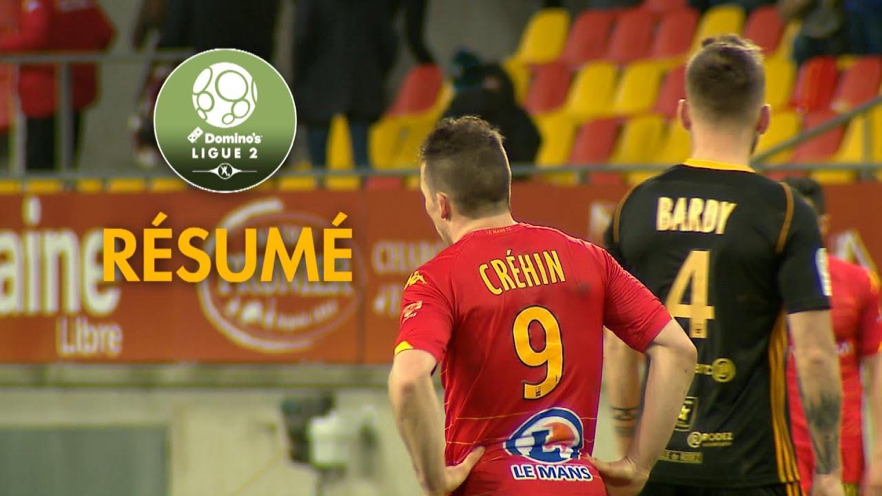 Ле-Ман  0-0  Родез видео
