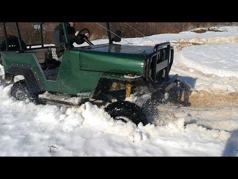 видео: Самодельная техника в гараже.