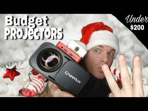 3 Budget Projectors under $200 | Best Budget Projector for Gaming?