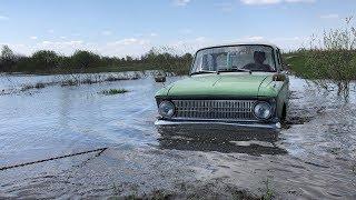 #Offroad Lada Niva 4x4 vs Moskvich 412!! Нива и Москвич на бездорожье! Утопили Москвич иж 412