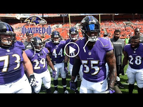 Ravens Bench Gets Fired Up To Spark Comeback Win | Wired | Baltimore Ravens
