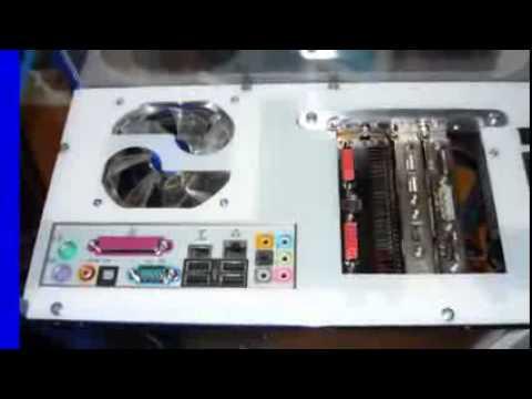 видео: Самодельный корпус компа  нестандартная компоновка