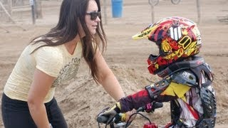 X games medalist Sara Price Training RTmotox at Milestone ranch