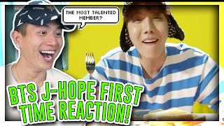 FIRST TIME REACTING TO J-HOPE (BTS)![REACTION]