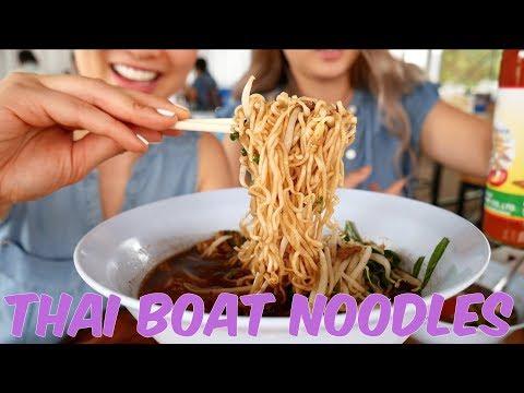 Thai Boat NOODLES | SASVlogs