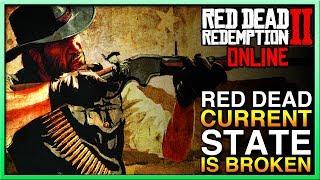 Red Dead Redemption 2 Online Update - Red Dead Online IS BROKEN - RDR2 Online Messed Up!