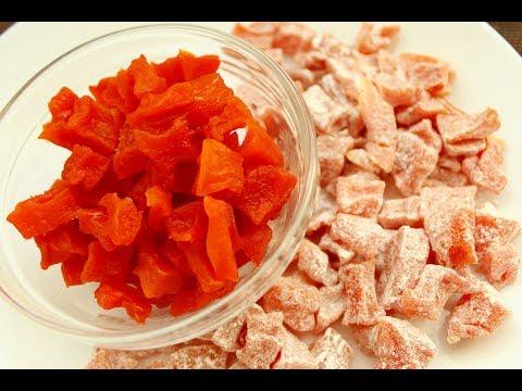 Цукаты из тыквы в духовке / Нереально вкусно! 💕Полезные конфеты / Candied Pumpkin Natural Candy
