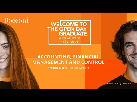 Accounting, Financial Management and Control