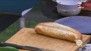 أحلى أكلة - طريقة عمل ساندوتش السكلانس على طريقة علاء الشربيني
