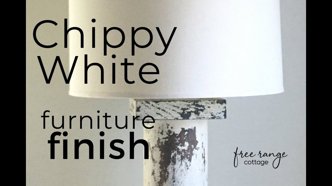Home Decor: How to Paint Furniture chippy