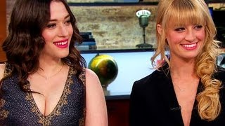 """2 Broke Girls"" stars on hit show and their real lives"