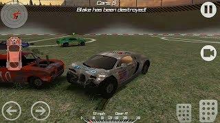 Super Car Bugatti Veyron Crashes Simulator - Demolition Derby 2 Android Gameplay #2