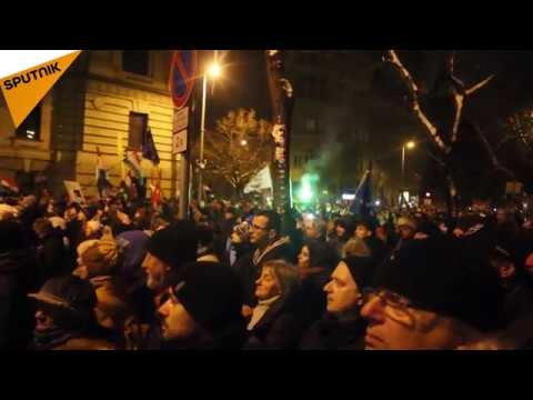 Hungary: Protests Grip Budapest Over PM Orban's Controversia