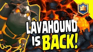 LAVAHOUND IS BACK! TOP 3 LAVAHOUND DECKS! GUARANTEED TO WORK! - Clash Royale