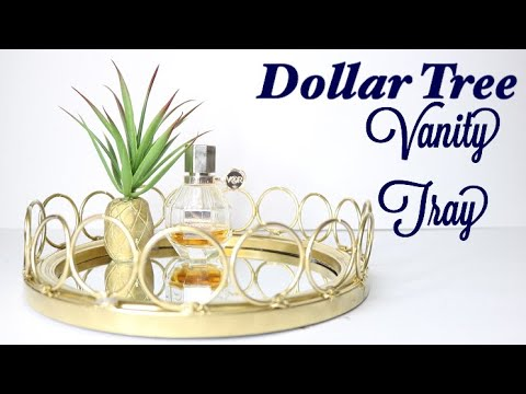 Dollar Tree Diy Mirrored Tray