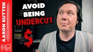 How to Avoid Being UNDERCUT - Digital Artist Vlog