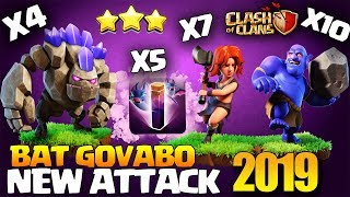 POWERFUL NEW Bat GoVaBo - Bat Spell Falcon - GoBoBat - BAT SPELL | TH10 CLASH OF CLANS