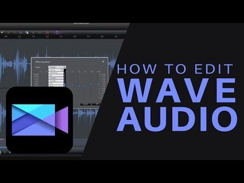 Cyberlink Power Director How To Edit Wave Audio