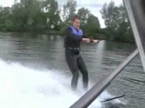 Billy Cannon Water Skiing
